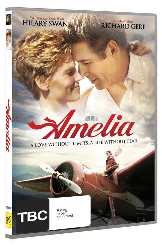 Amelia on DVD