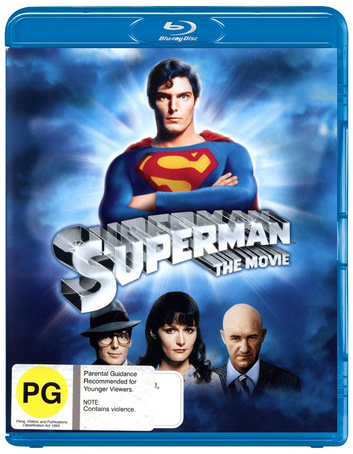 Superman - The Movie on Blu-ray image