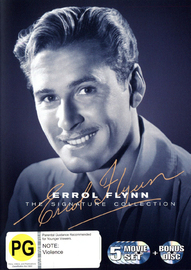 Errol Flynn: The Signature Collection on DVD image