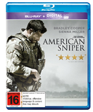 American Sniper on Blu-ray, UV