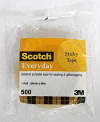 Scotch 500 Everyday Tape 24mm x 66m