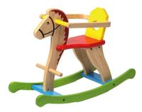 Colourful Rocking Horse
