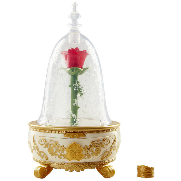 Disney's Beauty and Beast: Enchanted Rose Jewellery Box