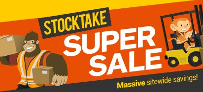 Stocktake Super Sale