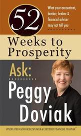 52 Weeks to Prosperity Ask Peggy Doviak by Peggy Doviak image