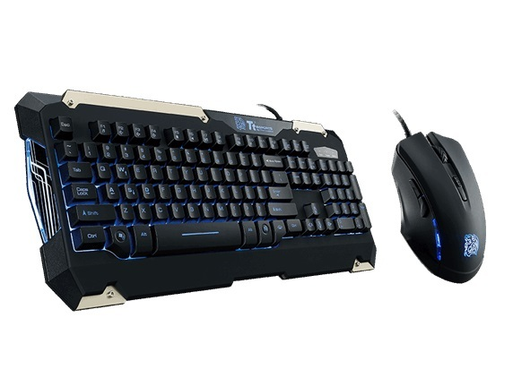 Ttesports by Thermaltake Commander Keyboard & Mouse Combo for PC