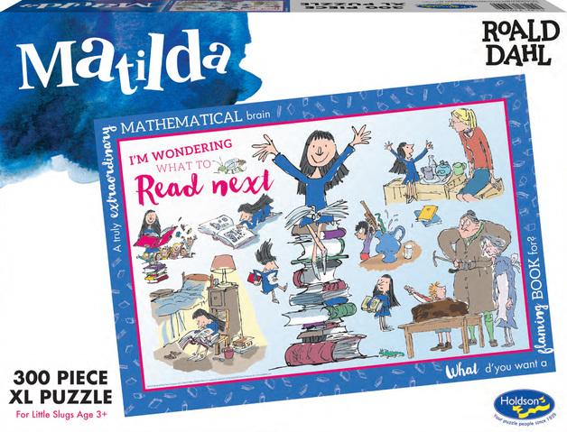 Roald Dahl: Themed Jigsaw Puzzle - Matilda