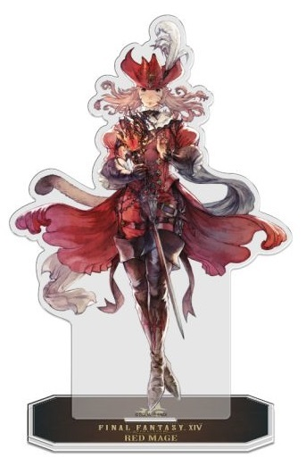FINAL FANTASY XIV: Red Mage - Acrylic Job Stand