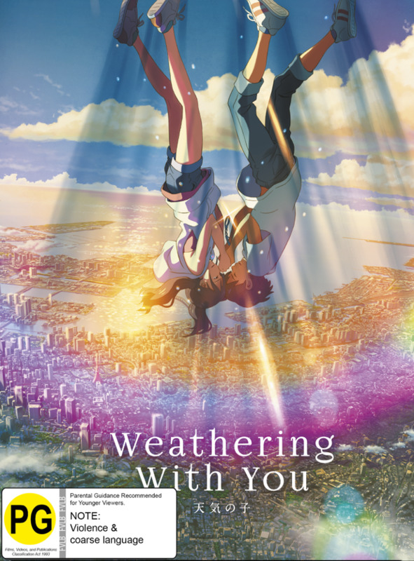 Weathering With You (Blu-Ray / 4K UHD Combo) (Deluxe Limited Edition) on UHD Blu-ray