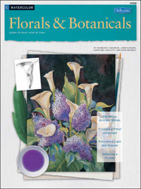 Watercolor: Florals & Botanicals by Caroline Linscott image