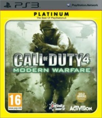 Call of Duty 4: Modern Warfare (Platinum) for PS3