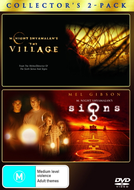Village The / Signs (2 Disc Set) on DVD