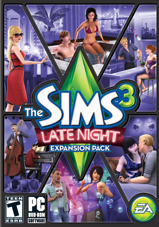 The Sims 3: Late Night for PC Games