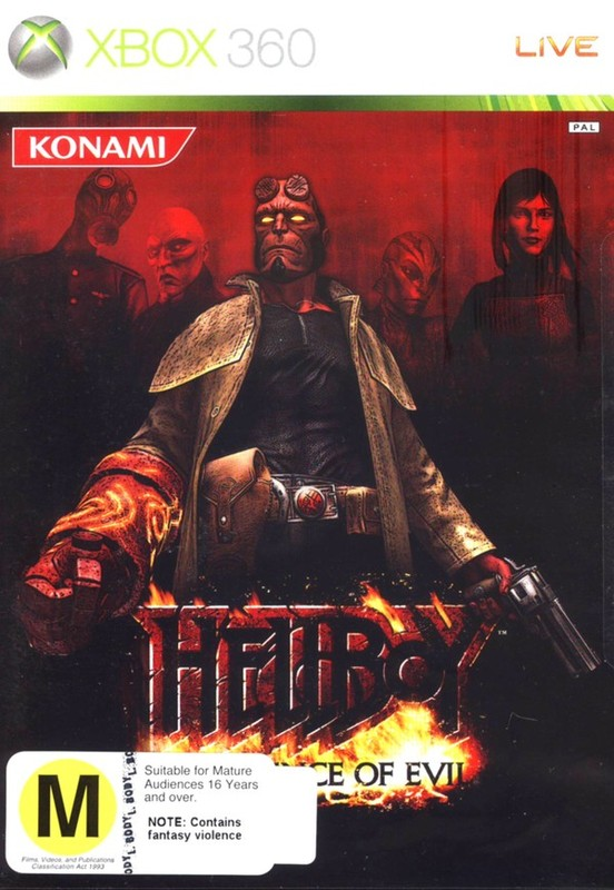 Hellboy: The Science of Evil for Xbox 360
