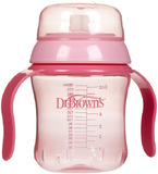 Dr Brown's 180ml Training Cup - Soft Spout (Pink)