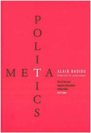 Metapolitics by Alain Badiou image