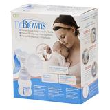 Dr Brown's Manual Breast Pump & Wide-Neck Feeding Bottle