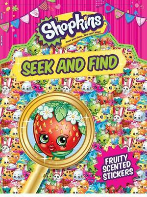 Shopkins Seek and Find by Little Bee Books image