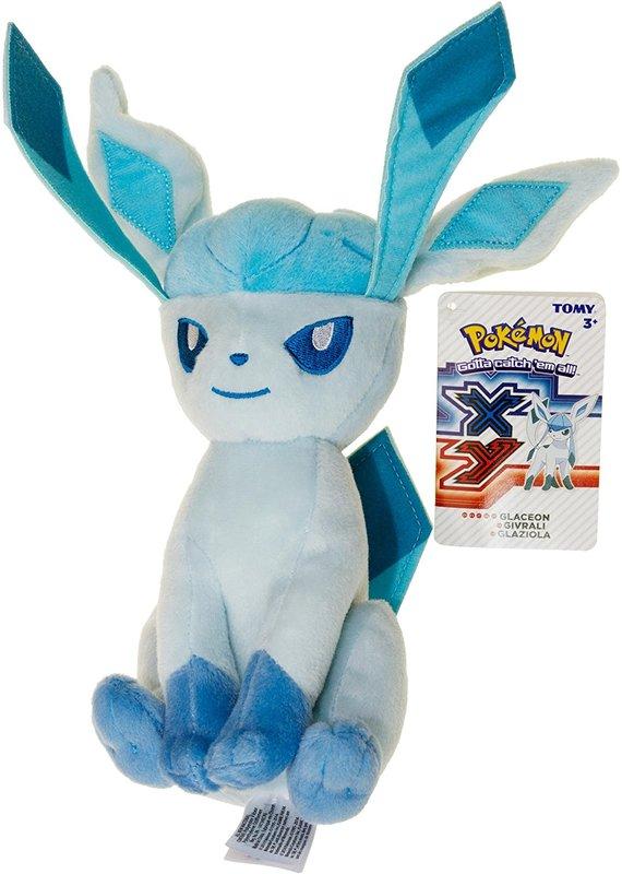 "Pokemon: Glaceon - 8"" Basic Plush"