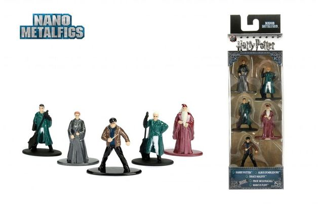 Jada Metal Minis: Harry Potter - Nano Metalfigs 5-Pack #2