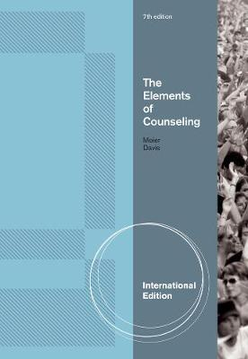 The Elements of Counseling, International Edition by Scott T. Meier image