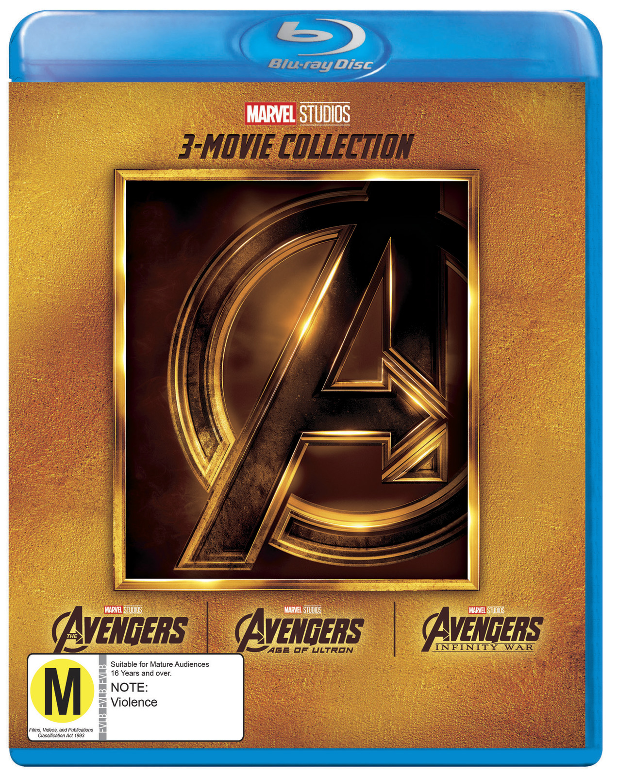 The Avengers: 3 Movie Collection