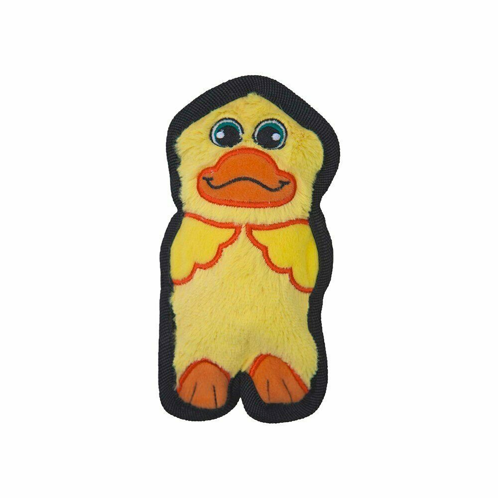 Outward Hound: Invincible Mini Dog Toy - Yellow Duck image