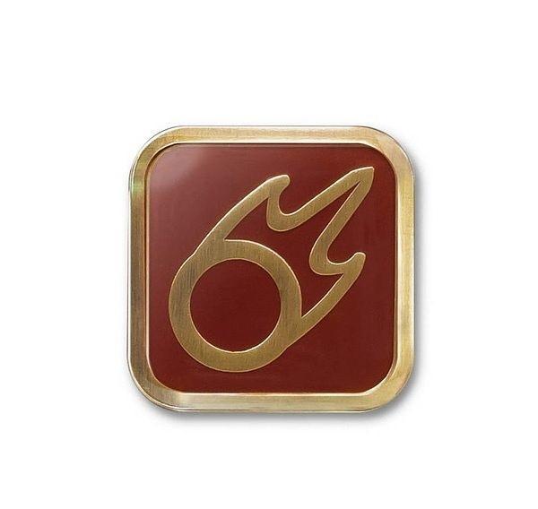 Final Fantasy XIV: Black Mage (BLM) - Job Icon Pin