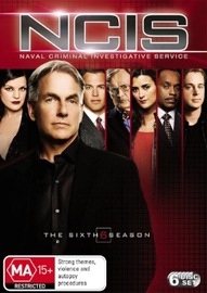 NCIS - Complete Season 6 (6 Disc Set) on DVD