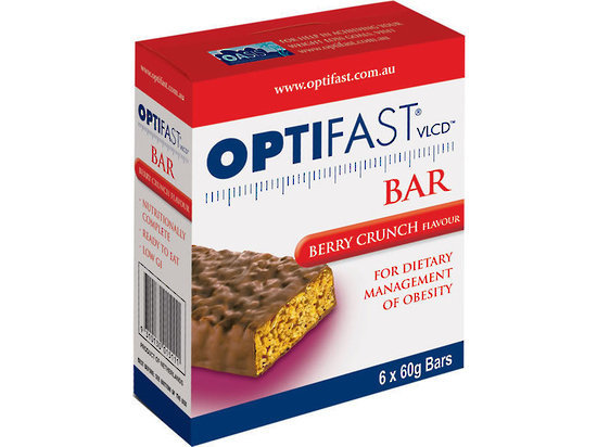 Optifast Bar - Berry Crunch (6 x 60g) image