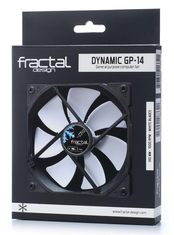 Fractal Design: Dynamic Series GP-14 Case Fan (140mm) - White
