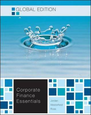 Essentials of Corporate Finance by Stephen A Ross image