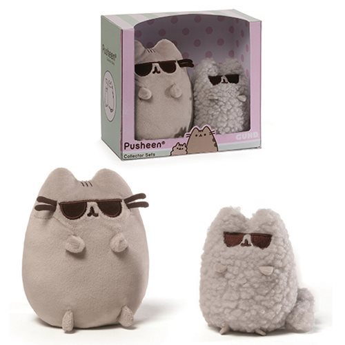 Pusheen The Cat: Sunglasses - Plush Collectors Set image