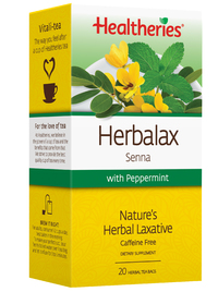 Healtheries Herbalax with Peppermint Tea (Pack of 20)