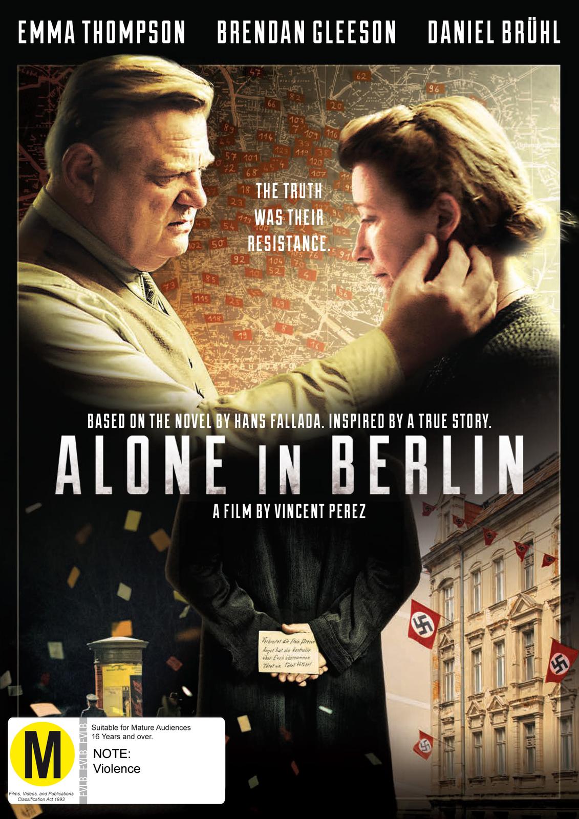 Alone In Berlin on DVD image