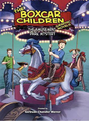 The Amusement Park Mystery - Box Car Kids Graphic Novel #12 image