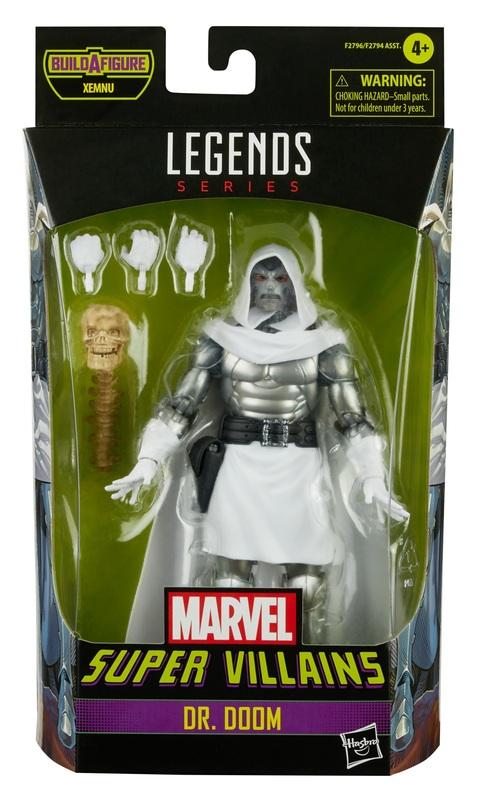 """Marvel Legends: Super Villains Dr. Doom - 6"""" Action Figure"""