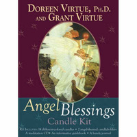 Angel Blessings Candle Kit by Doreen Virtue image