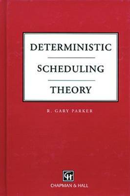Deterministic Scheduling Theory by R.Gary Parker image