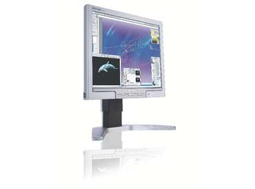 Philips 170P7ES 17  LCD Monitor 8ms DVI ERGO Base image
