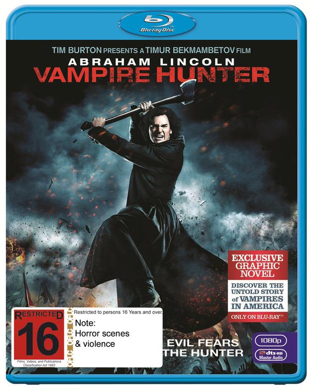 Abraham Lincoln: Vampire Hunter on Blu-ray