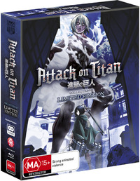 Attack on Titan - Collection 2 (Limited Edition) on Blu-ray