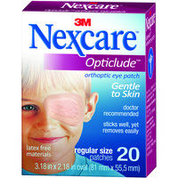 Nexcare Opticlude Orthoptic Eye Patch (Regular)
