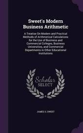 Sweet's Modern Business Arithmetic by James S Sweet image