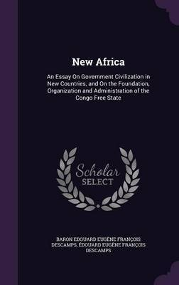 New Africa by Baron Edouard Eugene Francoi Descamps