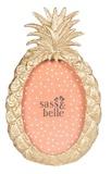 Mini Golden Pineapple - Standing Photo Frame