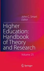 Higher Education: Handbook of Theory and Research image
