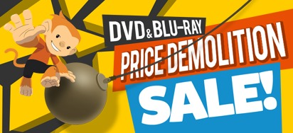 DVD & Blu-ray Price Demolition Sale!