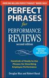 Perfect Phrases for Performance Reviews by Douglas Max