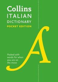 Collins Italian Pocket Dictionary by Collins Dictionaries